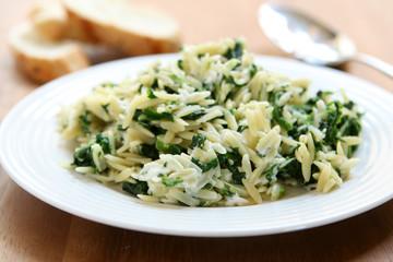 Spinach & Feta Orzo