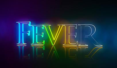3D Typografie Fever
