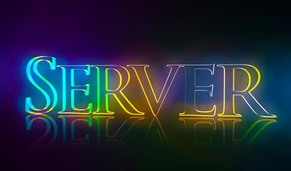 3D Typografie Server