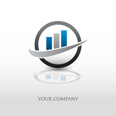 logo entreprise, logo finance