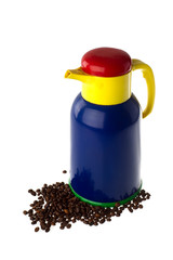 Colorful thermos can