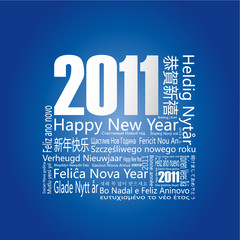 """28 languages said """"Happy New Year"""" in 2011."""