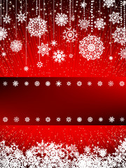 Bright new year and cristmas card template. EPS 8