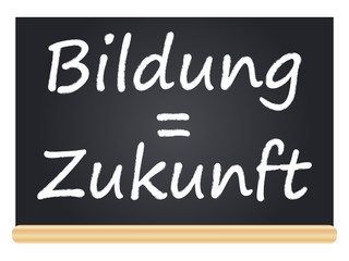 Bildung = Zukunft