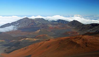 Caldera of the Haleakala volcano (Maui, Hawaii)