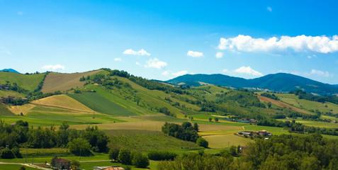Canvas Prints Hill Beautiful italian hills landscape