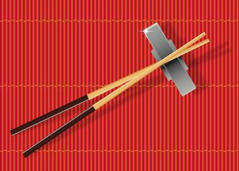 Baguettes Chine Japon