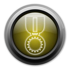 "Yellow Button (Dark/Glow) ""Award Medal"""