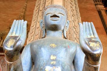 Buddha Image, Haw Phra Kaew ,Vientiane, Lao P.D.R.