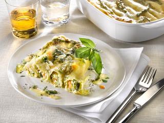 cannelloni primavera - cannelloni aux légumes nouveaux