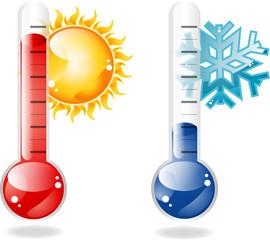 Obraz Thermometers - fototapety do salonu