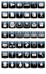 Набор пиктограмм 42 Set of pictograms