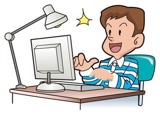 パソコン子供