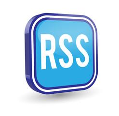 RSS Symbol 3d