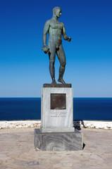 Rupert Brooke and Immortal Poetry statue, Skyros Island