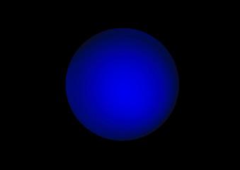 kugel blau