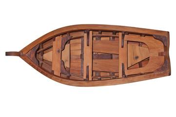 barque de dessus