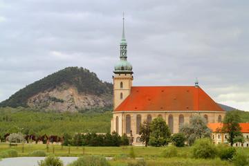 kirche Mariä Himmelfahrt Most