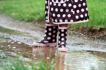 Rainboots and Mud Puddles