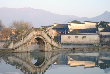 Chinese Traditional Bridge and construction