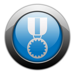 "Metallic Orb Button ""Award Medal"""