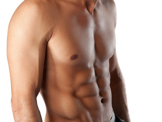 sexy sixpack fitness bauchmuskeln training