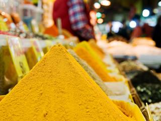 Spice market in Istanbul, Turkey.