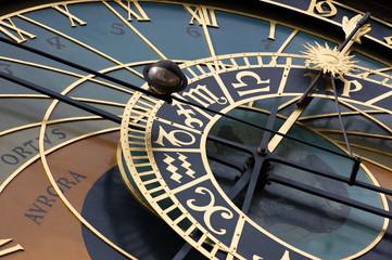 Old astronomic clock in Prague (orloj)