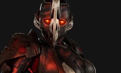 Advanced cyborg soldier