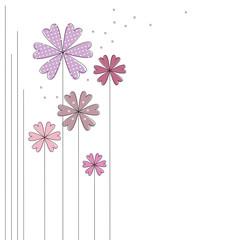 Herz-Blumen zum Valentinstag