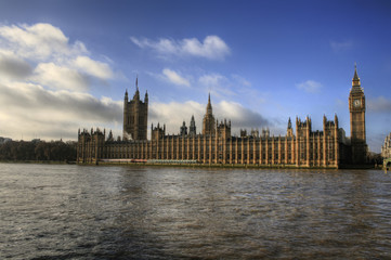 Wall Mural - London - Big Ben / Houses of Parliament