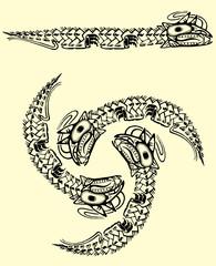 drago tribale maori