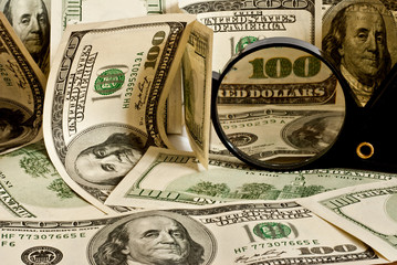 background of dollar
