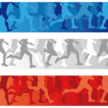 marathon bleu blanc rouge