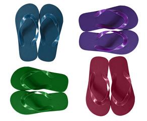 Flip Flops in different colors