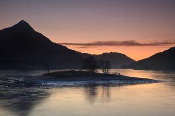 Island in Loch Leven