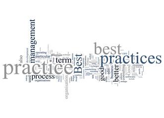 """Word Cloud """"Best Practice"""""""