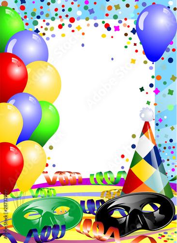Invito Festa Di Carnevale Stock Image And Royalty Free Vector