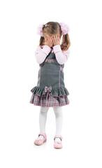 Cry little girl
