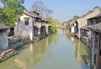 Jangsu, the Xizha ancient village