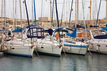 Many yachts