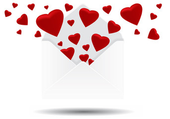 coeur enveloppe