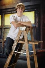 Happy Ladder-Teen
