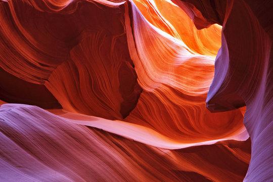 Scenic canyon Antelope