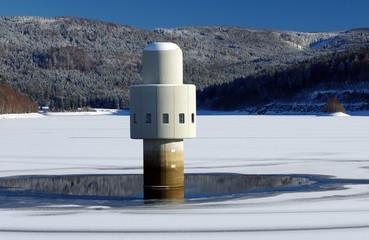 Trinkwassertalsperre - Oberfrauenau - Hirschbach