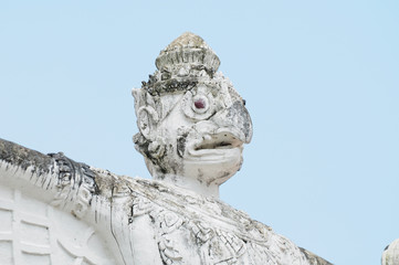 Garuda at temples in thailand
