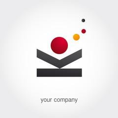 logo entreprise, vacances