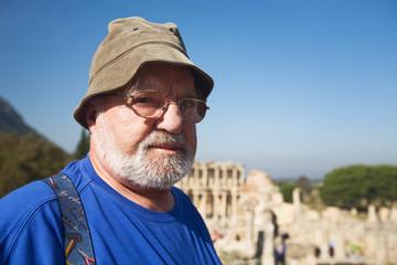 Tourist in Ephesus