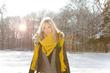 winter sun dreams woman 2