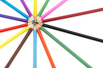 Color Wheel Close Up